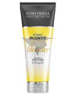John Frieda Sheer Blonde Go Blonder zosvetľujúci šampón 250ml