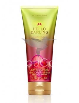 Victoria's Secret Hello Darling krém na ruky a telo