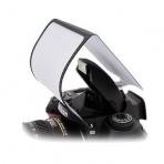 Difúzor na interný blesk pre fotoaparáty Canon, Nikon, Panasonic, Pentax a Olympus