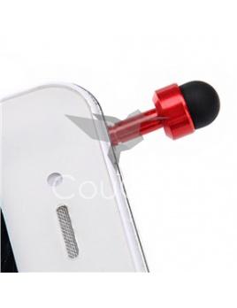 Náhradný prst - protiprachový šperk na telefón, tablet a iné (červený)