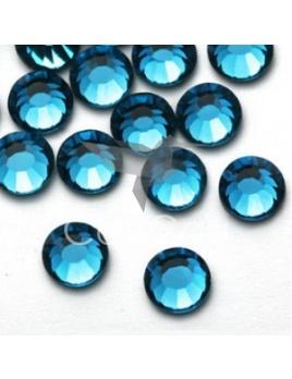 Blue zircon - 144 kameňov / 1 gross  (veľkosť 7 až 7,2 mm) SS34