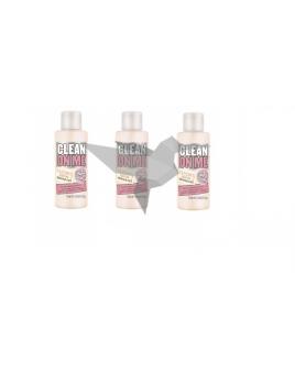 3x Soap & Glory Clean On Me Mini krémový sprchový gél 75ml