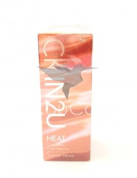 Calvin Klein In2u Heat For Her toaletná voda 100ml Limited Edition