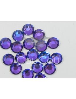 Tanzanite - 144 kameňov / 1 gross  (veľkosť 7 až 7,2 mm) SS34