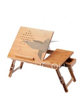 Bampo - drevený rozkladací stolček