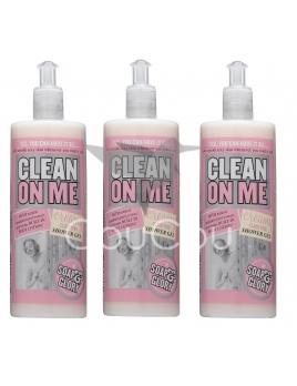 3x Soap & Glory Clean On Me krémový sprchový gél 500ml