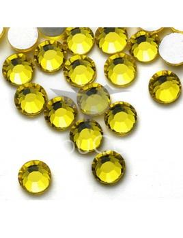 Citrine - 144 kameňov / 1 gross  (veľkosť 7 až 7,2 mm) SS34
