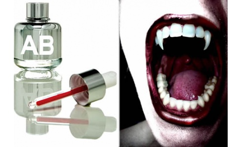 Výnimočné parfémy vychádzajúce z ľudskej krvi