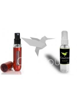 ČERVENÝ kabelkový parfém + CouCou Neutralizer