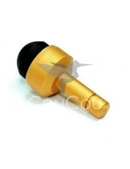 Náhradný prst - protiprachový šperk na telefón, tablet a iné (zlatý)