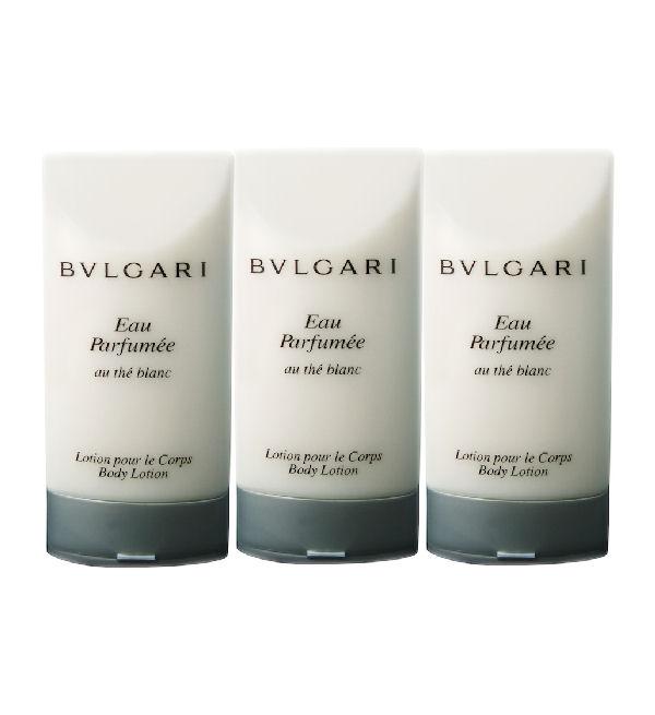 Bvlgari  Eau Parfumee au The Blanc telové mlieko 3x75ml bez krabice